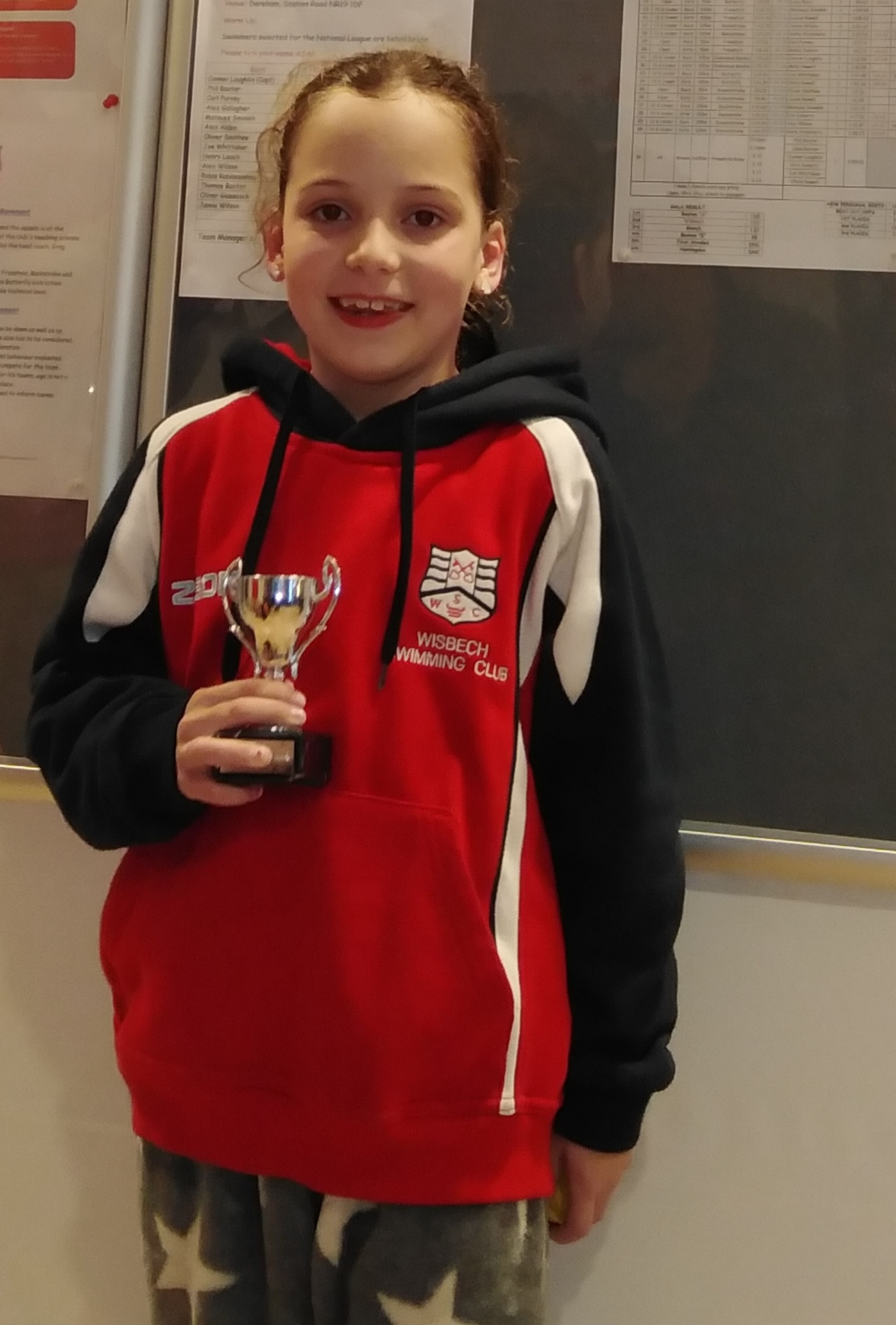 Well done Maddison this week's regional swimmer of the week.